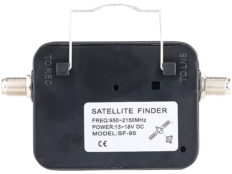 esoSAT Satelliten-Finder mit analoger Pegelskala, beleuchtet