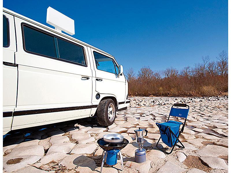 esosat selbstausrichtende satelliten antenne mit gps. Black Bedroom Furniture Sets. Home Design Ideas